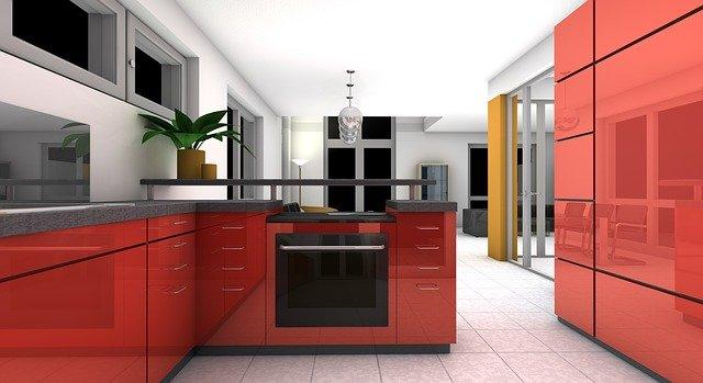 Tervezés / Konyha 3D látványterv